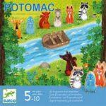 A partir de : 5 ans Durée : 20 min Nombre de joueurs : 4 Mécanismes : jeu coopératif Il faudra faire traverser la rivière aux animaux sans qu'ils ne se fassent ensuite attraper par le loup.